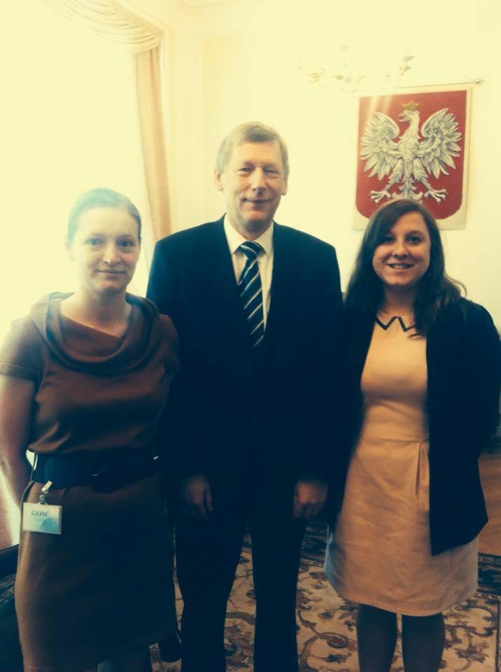 Spotkanie z Sekretarzem Stanu w Ministerstwie Nauki i Szkolnictwa Wyższego prof. Markiem Ratajczakiem.