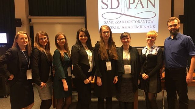 Nowa Rada Samorządu Doktorantów PAN